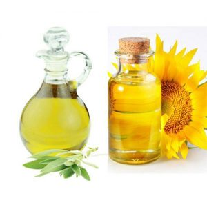 Olive oil & Sunflower oil